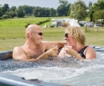 Mobile home jacuzzi