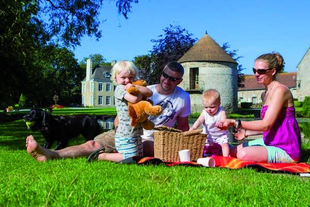 Vakantie met baby Normandië