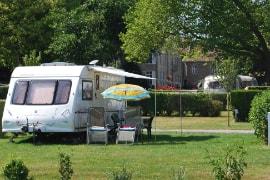 campers en caravans Normandië
