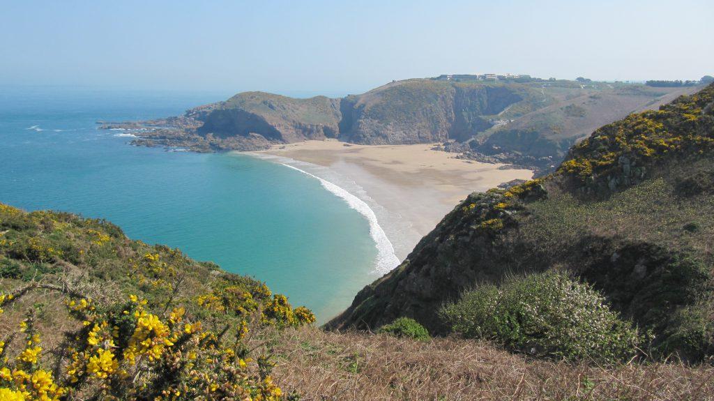 paysage bord de mer jersey