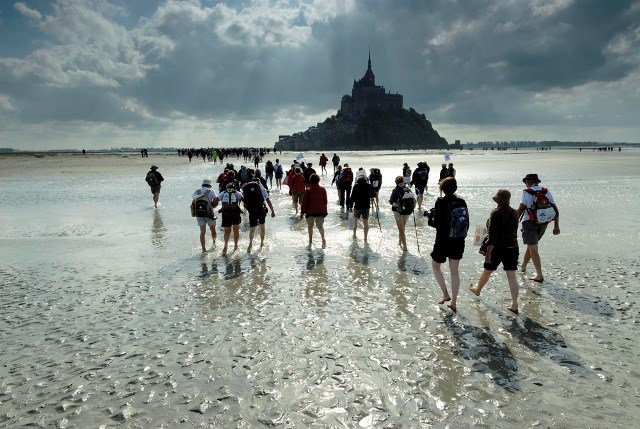 Oversteken van de baai van Mont Saint Michel Guided