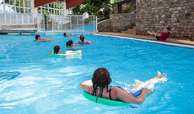 sport piscine activité camping