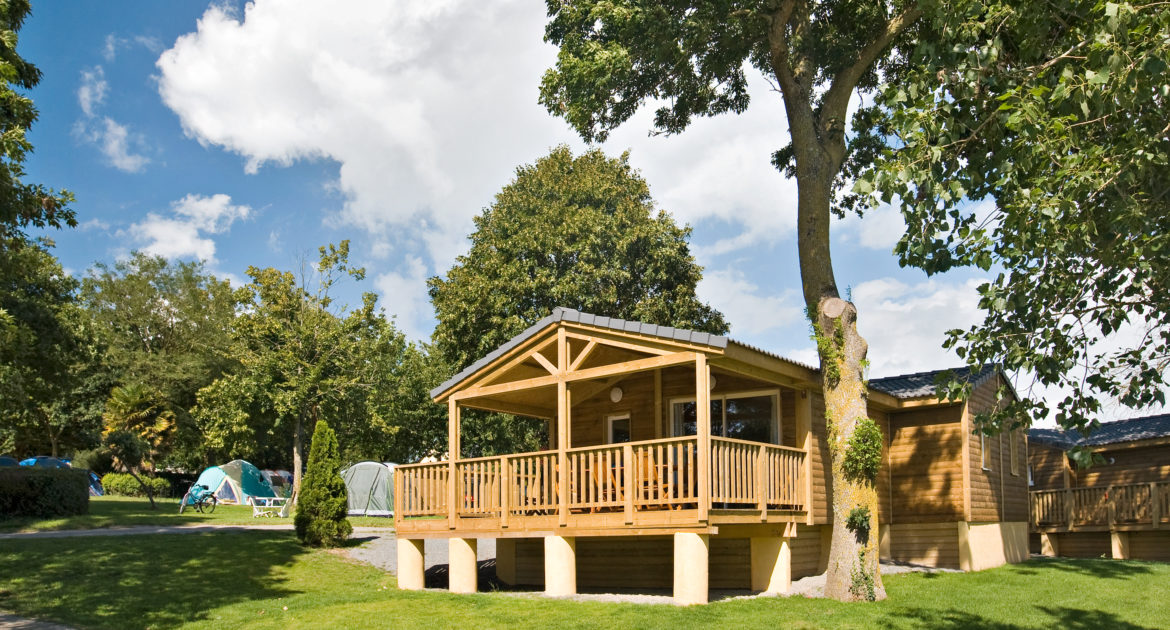 Chalet VIP 63m² - accommodation and camping pitches rental in Normandy Chalet VIP