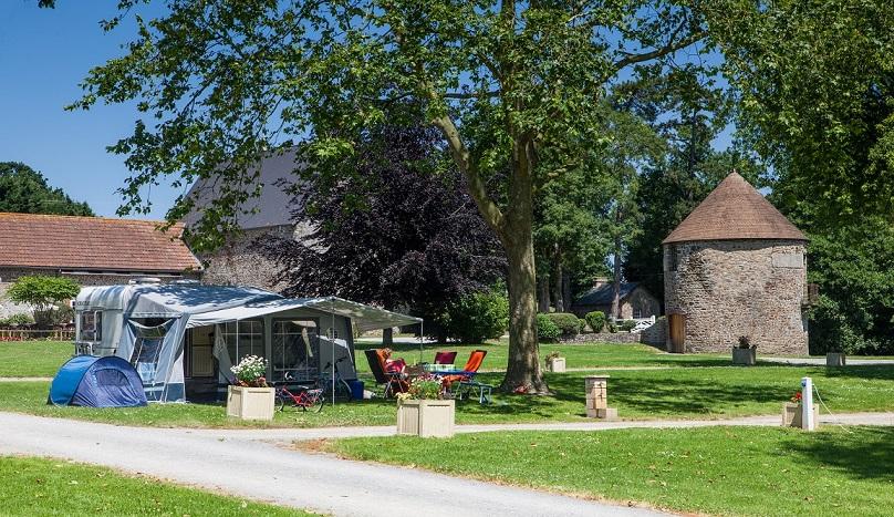 Castels Camping Château Lez-Eaux 5 étoiles Normandie