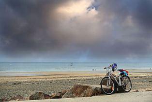 vélo bord de mer normandie