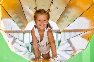 speelplaats voor kinderen in Normandië