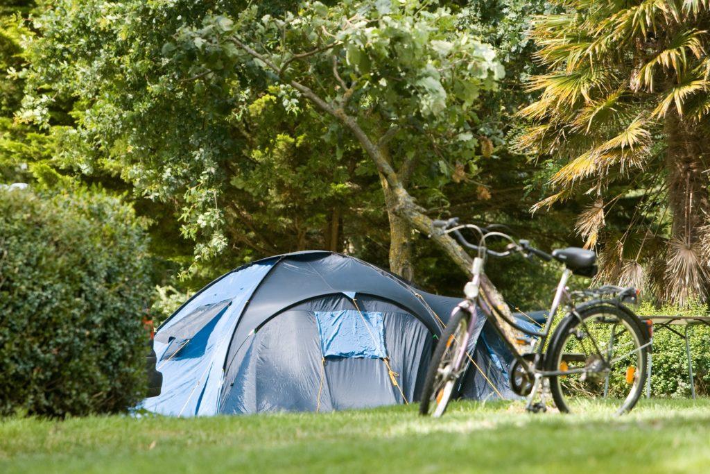 emplacement camping calme tente normandie