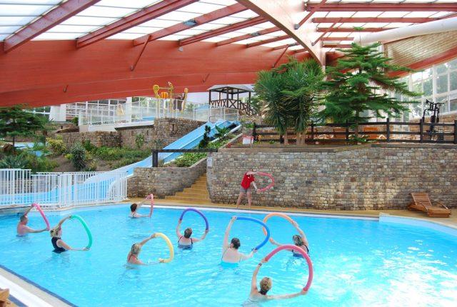 Camping aquatonic parc aquatique normandie
