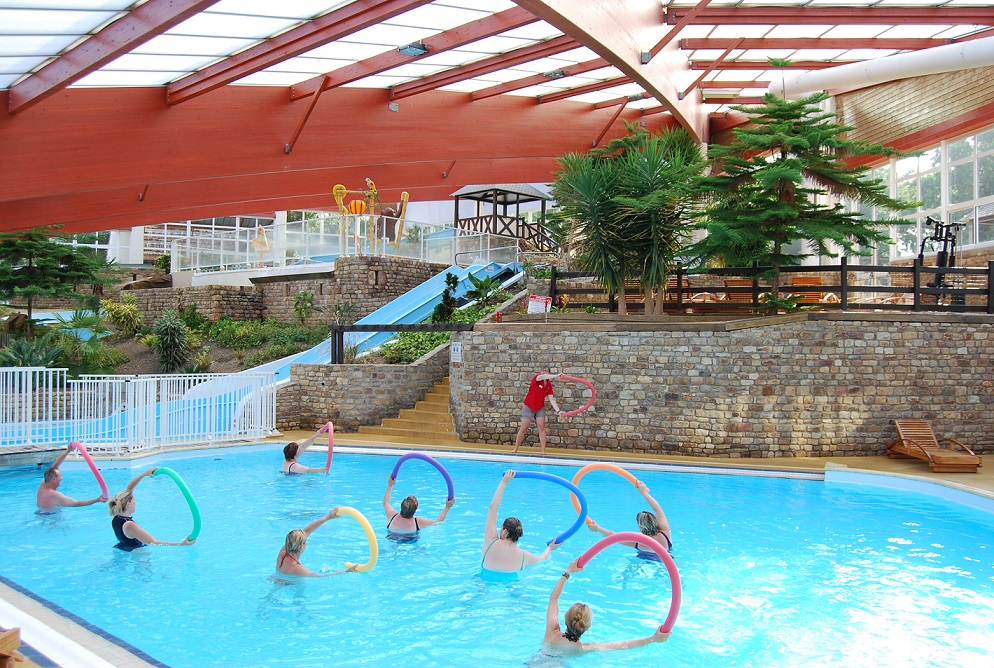 Camping Manche avec piscine couverte
