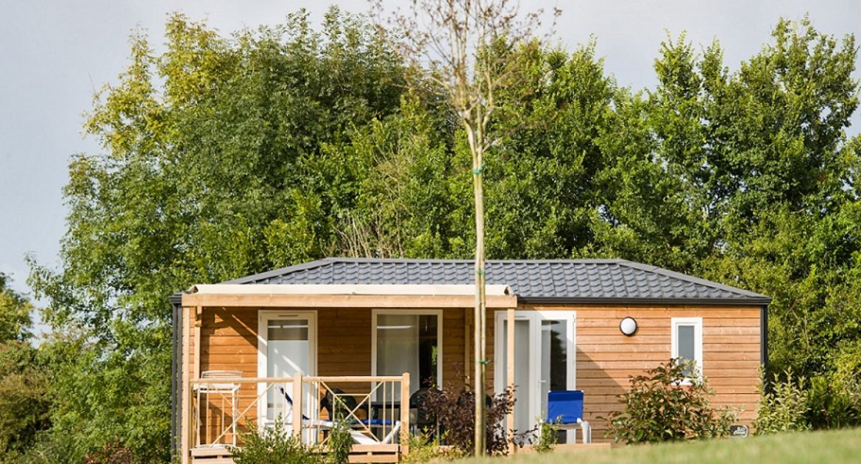 Stacaravan Premium: eerste klas verhuur in Saint Pair sur mer - Mobile home – chalet – cabane dans les arbres Manche