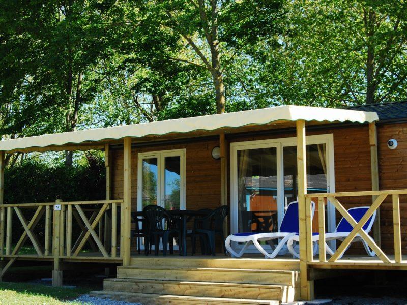 Le Grand Mobil-home Premium: hébergement luxe, moderne et spacieux