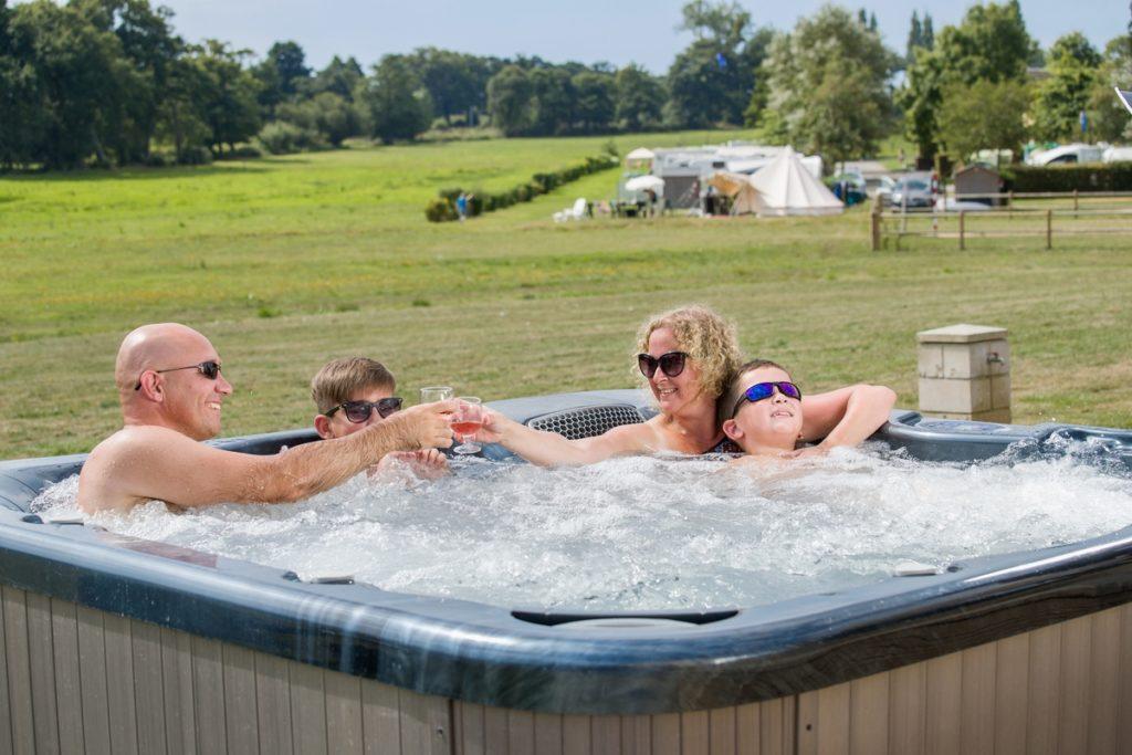 location mobil home spa camping lez eaux