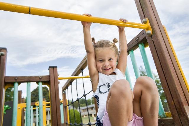 aire de jeux enfants camping normandie