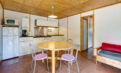 "3 bedroomed ""Jersey Chalet"", campsite with kids club and waterpark"