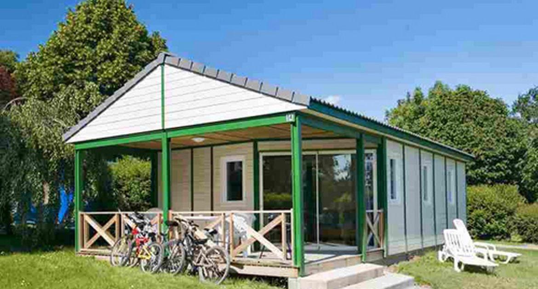 Chalet Jersey 3 Schlafzimmer, camping mit Kids Klub und Wasserpark - chalet jersey 3 chambres