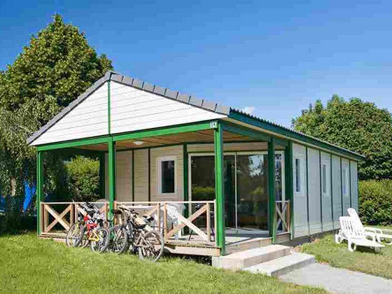 Chalet Jersey 3 Schlafzimmer, camping mit Kids Klub und Wasserpark