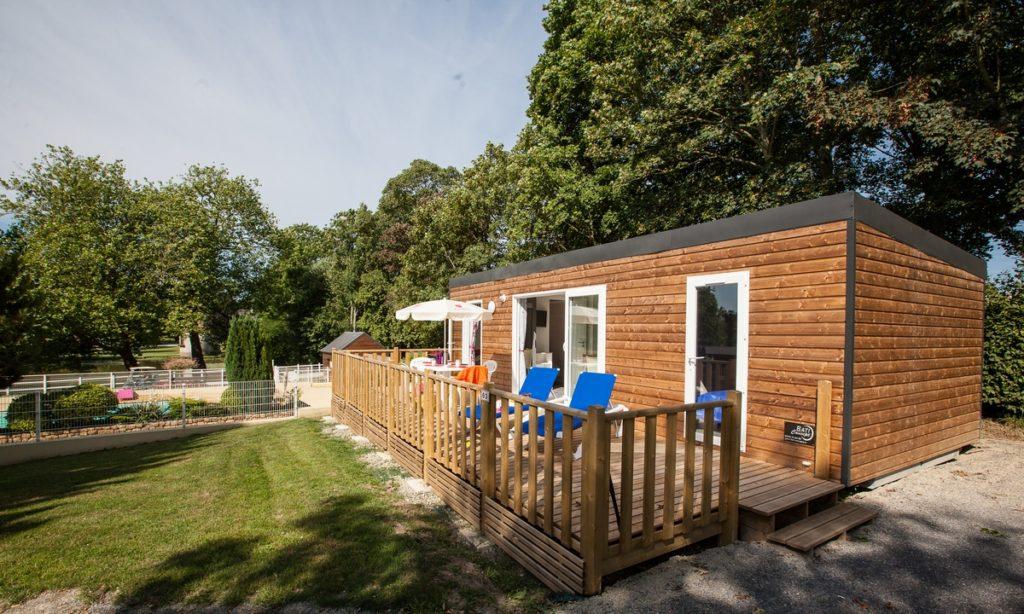 cottage bungalow neuf vue piscine