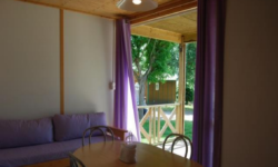 """Mont Saint Michel Chalet"", Campsite with covered swimming pool"