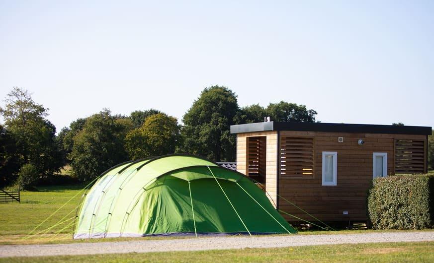 emplacement Premium Camping Luxe parc aquatique couvert