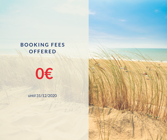 How much are the booking fees?