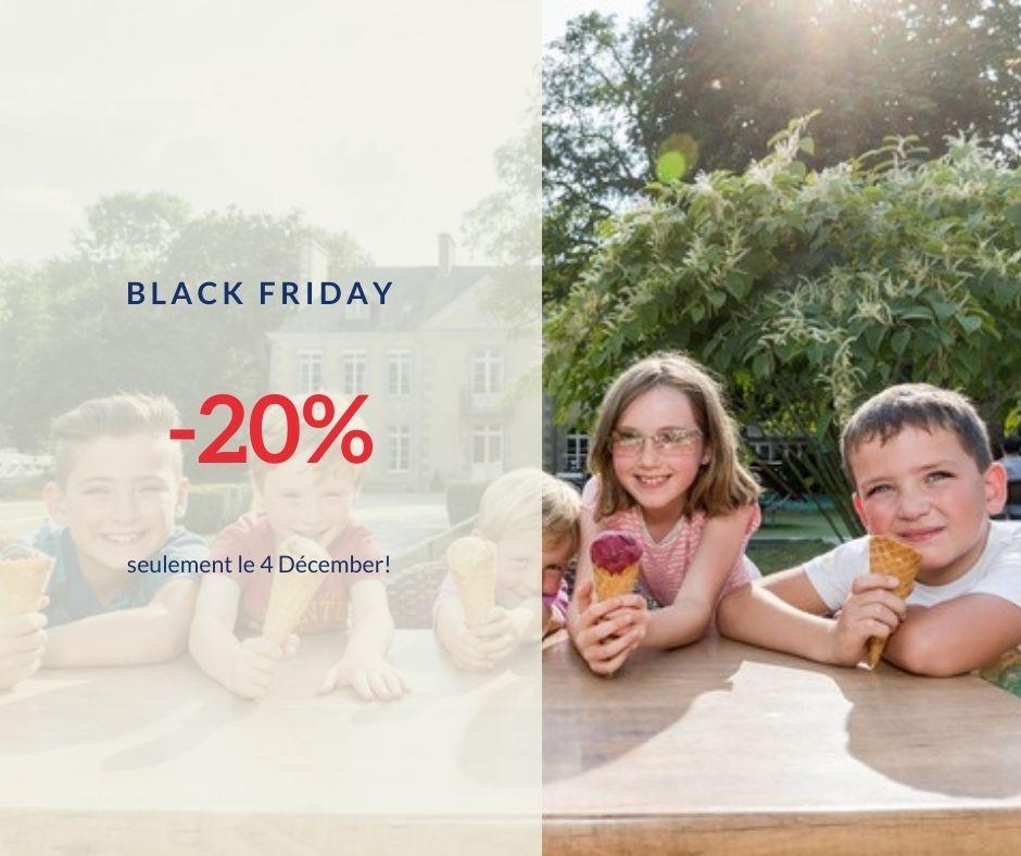 Promotion « Black Friday » pour mes vacances à Lez Eaux, Normandie