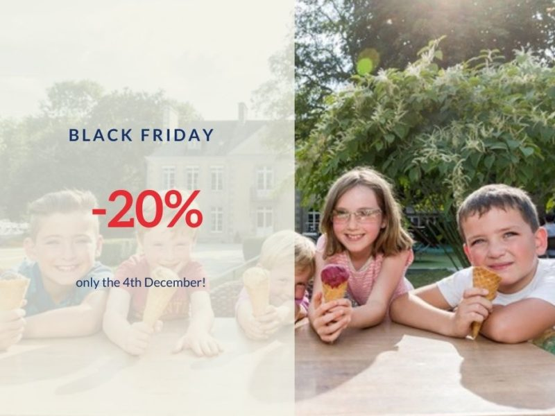 Discount « Black Friday » for my holidays at Lez Eaux, Normandy