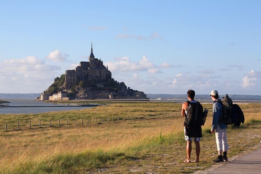 Promenade Baie du Mont Saint Michel