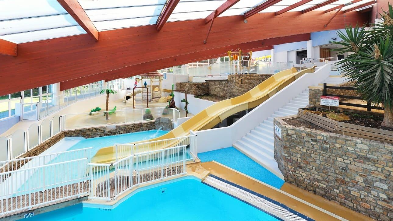piscine intérieure chauffée manche