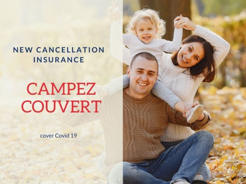 Coronavirus: Book with serenity with our cancellation insurance