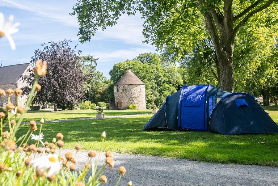 camper camping campagne