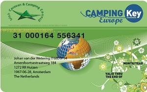 camping key europe card