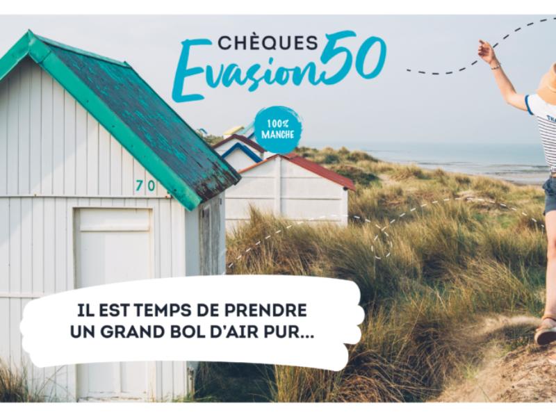 Le Chèque Evasion 50 : La Manche vous offre vos activités!