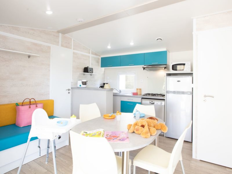 Famili baby Mobile home: equipped for holidays with baby