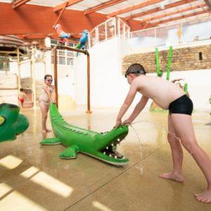 parc aquatique couvert camping manche