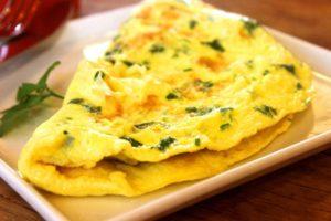 omelette persil