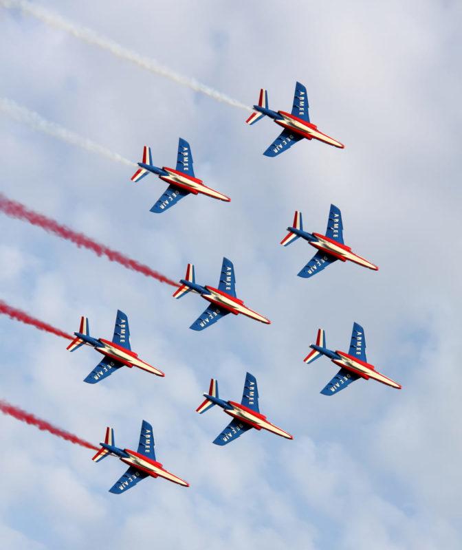 """""""Piper Operation Cobra"""" : 75. Jahrestag der Landung in Jullouville und Granville und eine große Flugkonferenz mit der französischen Patrouille."""