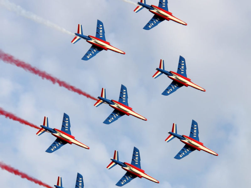 """Piper Operation Cobra"": the 75th anniversary of the landing in Jullouville and Granville and a major air rally with the Patrouille de France."